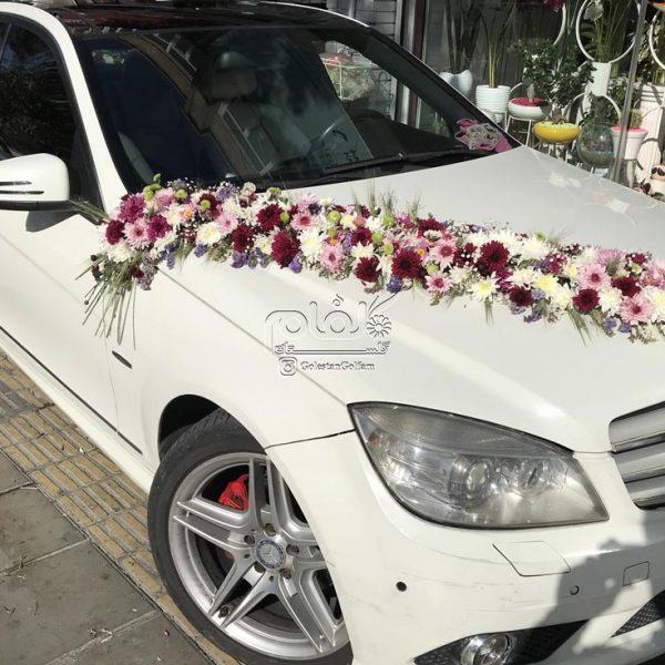 ماشین عروس الوان داودی مینیاتوری